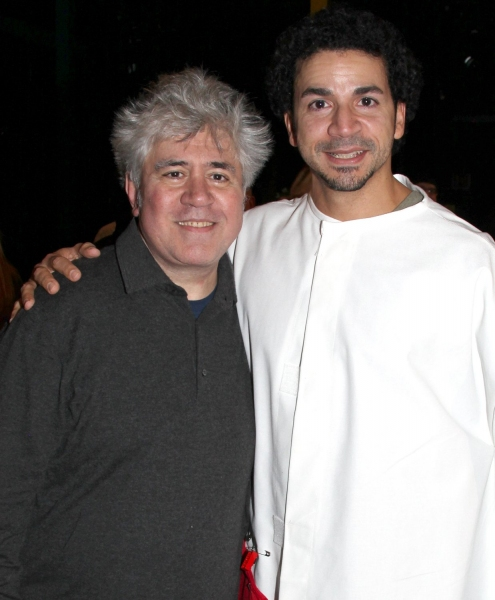 Pedro Almodovar, Julio Agustin (Gypsy Robe Receipient)  at Gypsy Robe Ceremony for WOMEN ON THE VERGE OF A NERVOUS BREAKDOWN