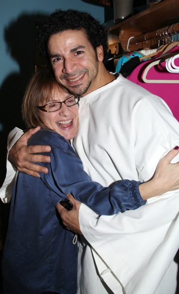 Patti LuPone & Julio Agustin (Gypsy Robe Receipient)  Photo