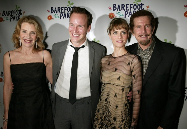 "Jill Clayburgh, Patrick Wilson, Amanda Peet and Tony Roberts on the Opening Night ""BAREFOOT IN THE PARK""- 2/16/2006"