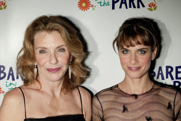 "Jill Clayburgh & Amanda Peet on the Opening Night ""BAREFOOT IN THE PARK""- 2/16/2006"