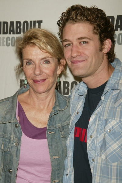 "Jill Clayburgh & Matthew Morrison   ""A NAKED GIRL ON THE APPIAN WAY""- 8/25/2005"
