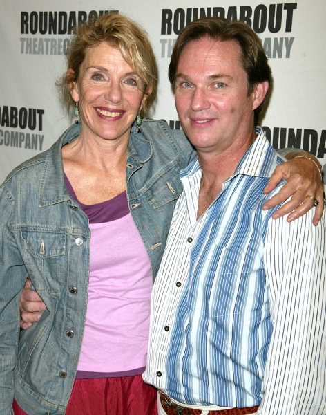 "Jill Clayburgh & Richard Thomas  ""A NAKED GIRL ON THE APPIAN WAY""- 8/25/2005"