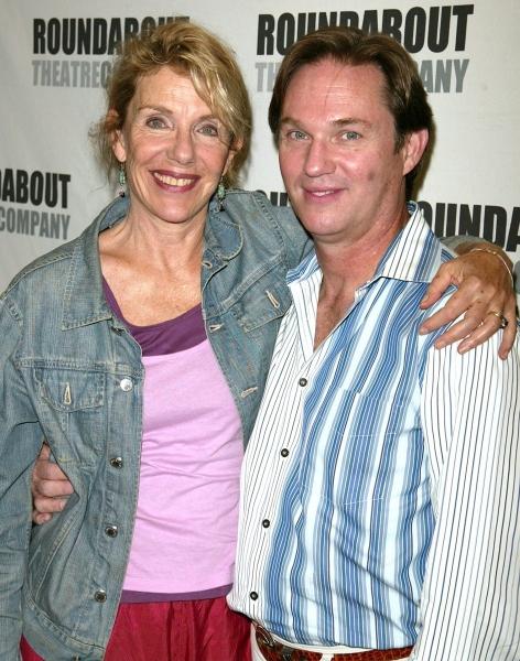 "Jill Clayburgh & Richard Thomas  ""A NAKED GIRL ON THE APPIAN WAY""- 8/25/2005 Photo"