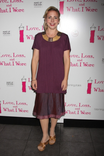 Alicia Goranson at New Cast of LOVE, LOSS & WHAT I WORE
