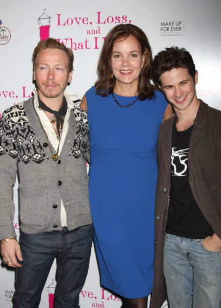 Margaret Colin, Connor Paolo and Eric Daman
