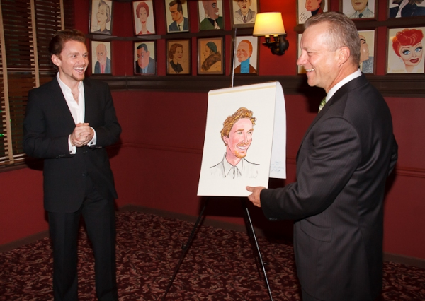 Photos: Jason Danieley Unveils Sardi's Caricature