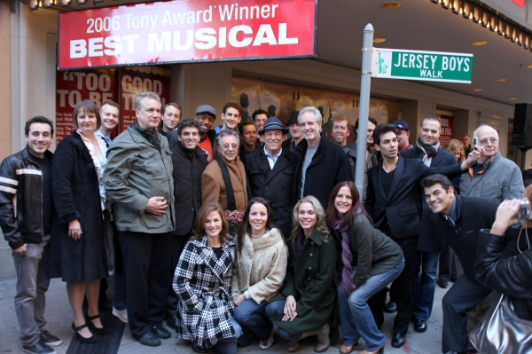 Photo Coverage: JERSEY BOYS 'Walk' Unveiled!