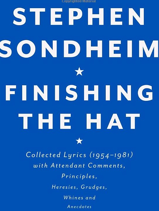 Sondheim's FINISHING THE HAT Makes NY Times 'Top 10'