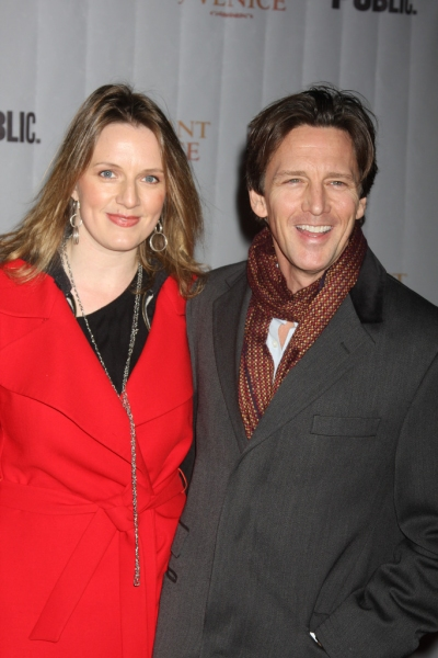 Andrew McCarthy and Wife Photo