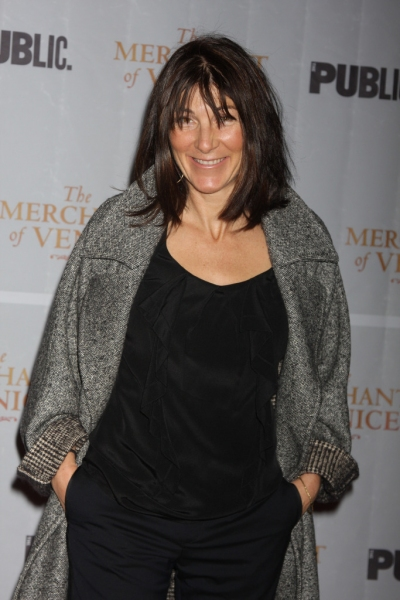 Eve Best at MERCHANT OF VENICE Opening Arrivals