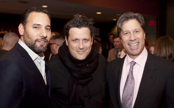 Arnold Gerber, Isaac Mizrahi and Eric Rudin