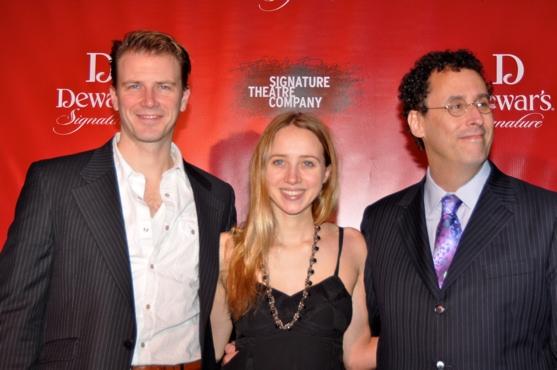 Bill Heck, Zoe Kazan and Tony Kushner