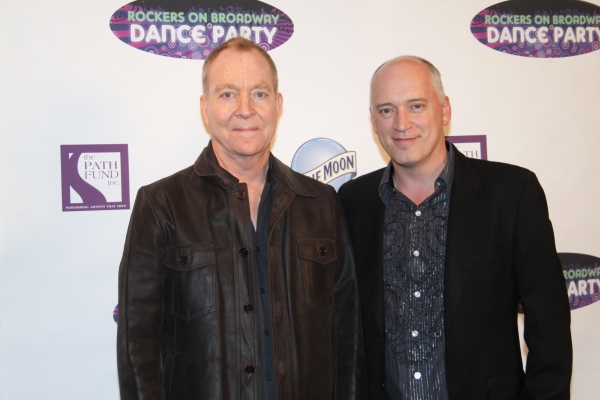 Fred Schneider and Donnie Kehr