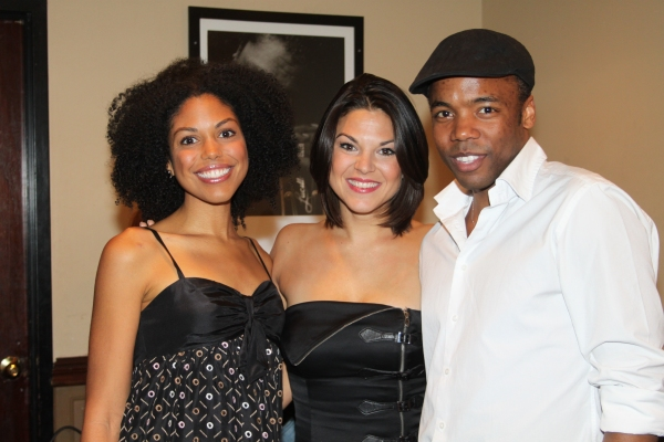 Karla Mosley, Tracy Jai Edwards and Tommar Wilson