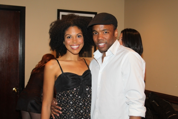 Karla Mosley and Tommar Wilson