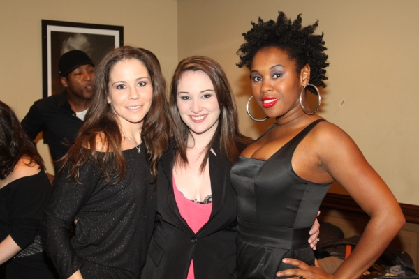 Sara Schmidt, Emma Hunton and Ta'Rea Campbell
