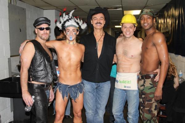 Doug Storm, Frankie James Grande, Randy Jones, James Kinney and Jermaine R. Rembert