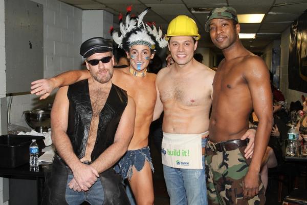 Doug Storm, Frankie James Grande, James Kinney and Jermaine R. Rembert