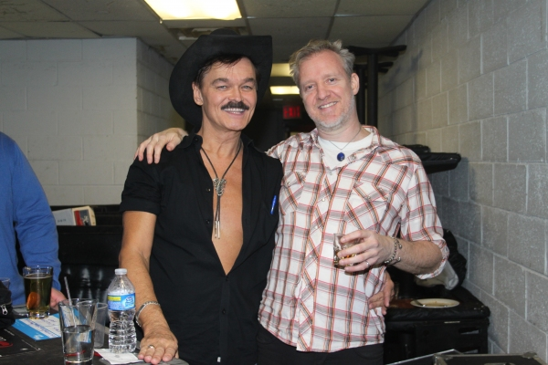 Randy Jones and Chris Barron at Rockers on Broadway 2010