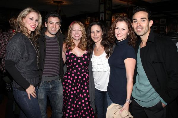 Jessica Rush, Jarrod Spector, West Coast Fan, Sara Schmidt, Katie O'Toole & Dominic Scaglione Jr.