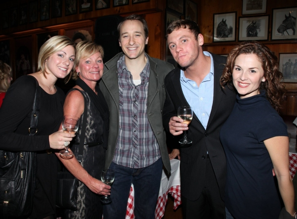 John Hickman, Katie O'Toole & fansAttending  at JERSEY BOYS celebrates Five Years on Broadway with Fans!