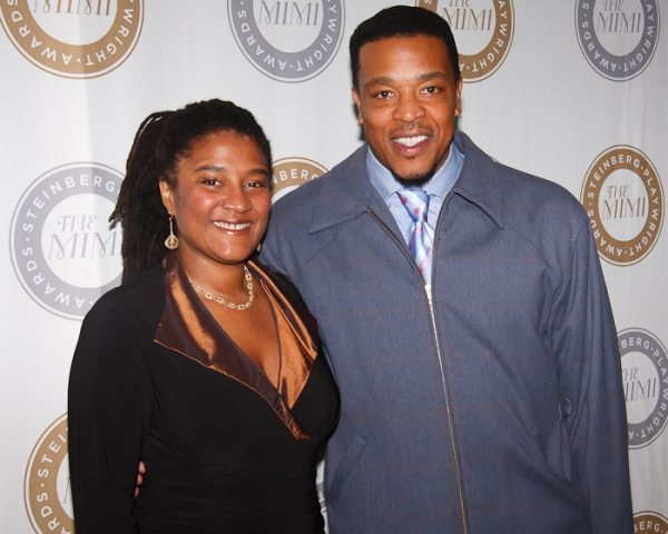 Lynn Nottage and Russell Hornsby