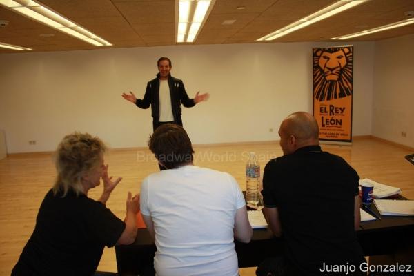 Photo Flash: Comienzan las audiciones para El Rey León