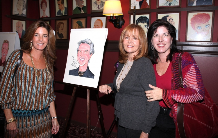 High Res Bob Gaudio Family: daughter Lisa Gaudio, wife Judy Gaudio & daughter Danielle Gaudio-Lalehzar