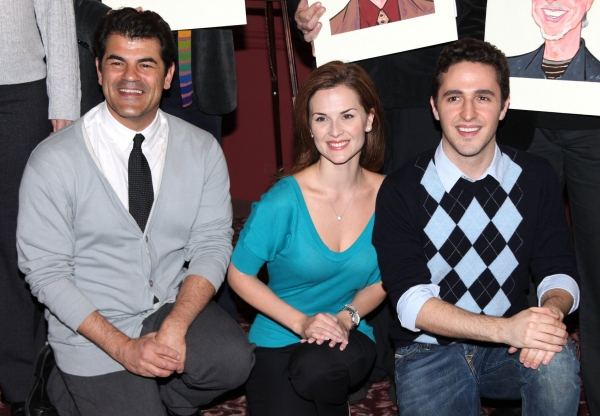 Peter Gregus, Katie O'Toole & Taylor Sternberg  at Sardi's Honors Valli, Gaudio & More!