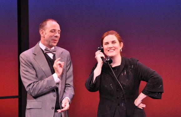 Patrick Richwood and Donna Lynne Champlin