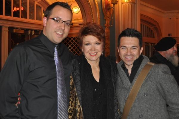 Jack Stephens, Donna McKechnie and Luis Villabon
