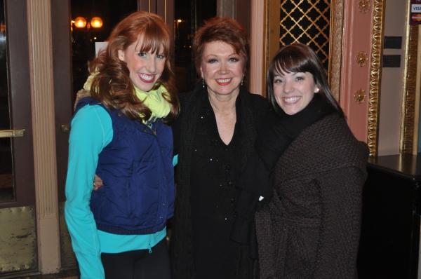 Ashley Klinger, Donna McKechnie and Chelsea Swanderski