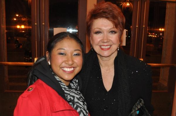 Cassandra Hlong and Donna McKechnie Photo