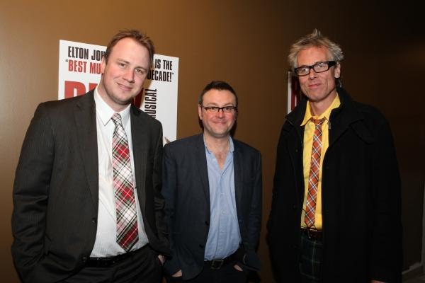 Justin Martin, Lee Hall, Julian Webber Photo