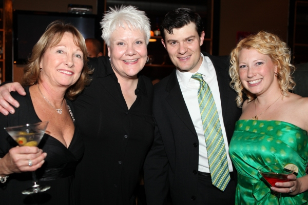 Denise Reynolds, Susan Draus, Nathan Scherich & Wife