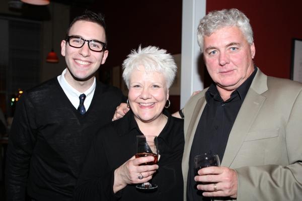 Seth Sklar-Heyn, Susan Draus, Rich Hebert at BILLY ELLIOT Kicks-Off Tour With Celebration Party!
