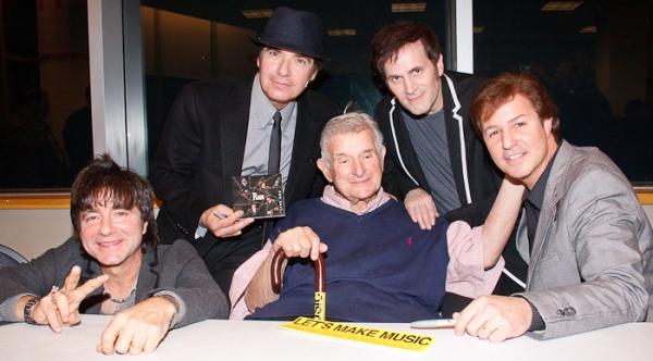 Ralph Castelli, Joe Bithorn, Sid Bernstein, Steve Landes, and Joey Curatolo