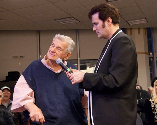 Sid Bernstein and Steve Landes