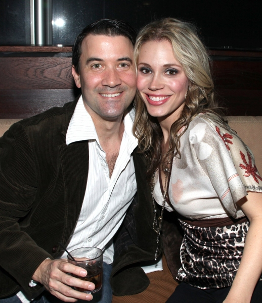 Miles Aubrey & Jessica Rush  Photo