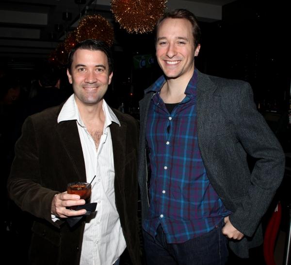 Miles Aubrey & John Hickman  Photo