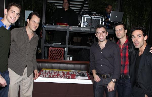 Ryan Jesse, Matt Bogart, Jarrod Spector, Dominic Nolfi & Dominic Scaglione Jr.