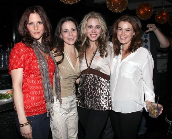 Bridget Berger, Sara Schmidt, Jessica Rush & guest