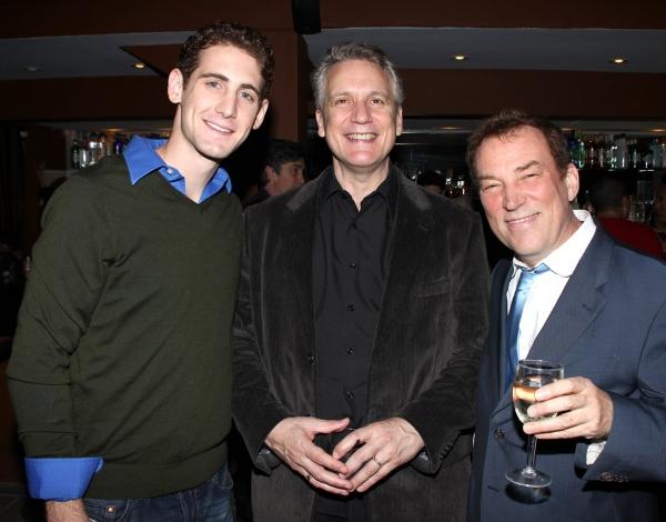 Ryan Jesse, Rick Elice & Des McAnuff Photo