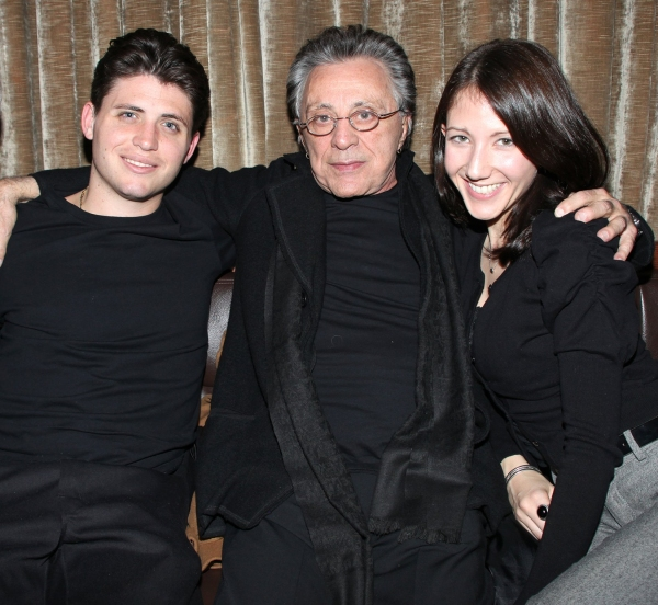 Francesco Valli, Frankie Valli & Girlfriend