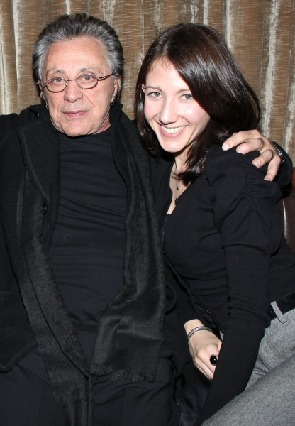 Frankie Valli & Girlfriend  at JERSEY BOYS Celebrates Five Years on Broadway at the Empire Hotel