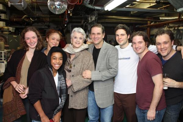 Photo Flash: Angela Lansbury Visits Cast of BANISHED CHILDREN OF EVE
