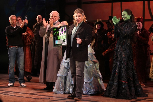 Producer Marc Platt, P.J. Benjamin, Katie Rose Clarke, Mandy Gonzalez, Composer Stephen Schwartz