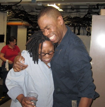Photo Flash: Whoopi Goldberg Visits THE SCOTTSBORO BOYS!