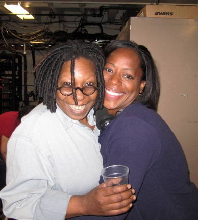 Whoopi Goldberg and Robin S. Walker