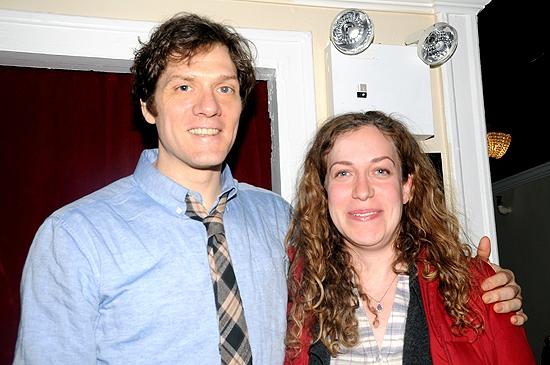Adam Rapp & Kim Rosenstock Photo